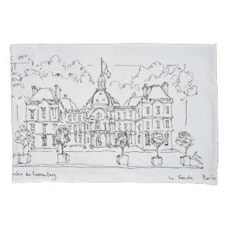 Housse D'oreillers Rue de Vaugirard, Paris du palais   du