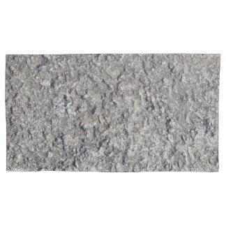 Housse D'oreillers Texture concrète approximative grise 060