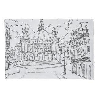 Housse D'oreillers Théatre de l'opéra   Paris, France de Palais