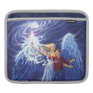 Housse iPad angélique