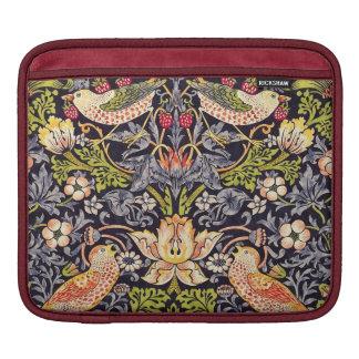 Housse iPad Art floral Nouveau de voleur de fraise de William