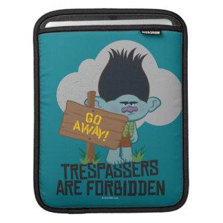 Housse iPad Branche des trolls | - des transgresseurs sont