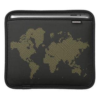 Housse iPad Carte du monde de Digitals
