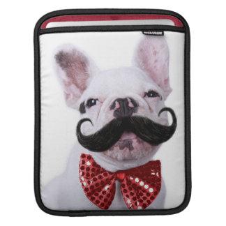 Housse iPad Chiot de chien de Taureau de Français avec la