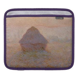 Housse iPad Claude Monet | Grainstack, Sun dans la brume