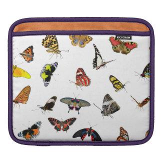 Housse iPad Collage de collection de papillon