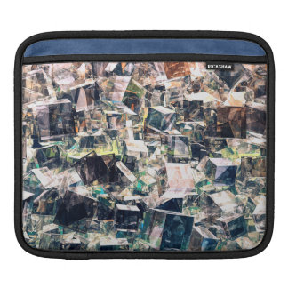 Housse iPad Collection chaotique de cubes