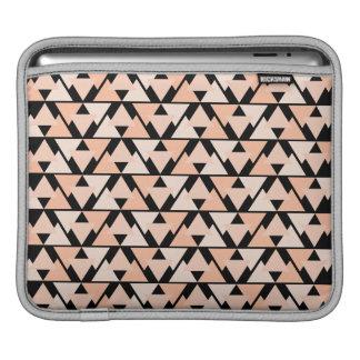 Housse iPad Conception orange en pastel de douille d'iPad de