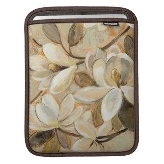 Housse iPad Crème de simplicité de magnolia