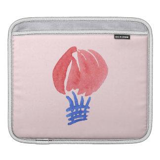 Housse iPad Douille d'iPad de ballon à air