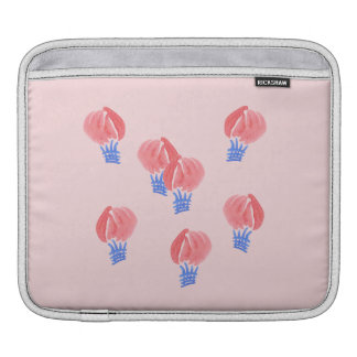 Housse iPad Douille d'iPad de ballons à air