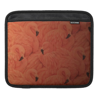 Housse iPad Douille rose tropicale d'iPad de flamants