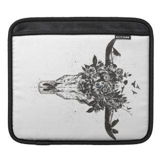 Housse iPad Été mort (noir et blanc)