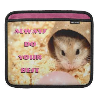 Housse iPad Hammyville - le hamster mignon font toujours votre