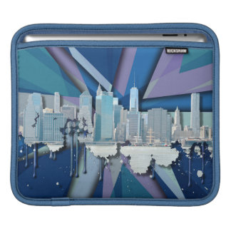 Housse iPad Horizon | 3D bleu de New York City