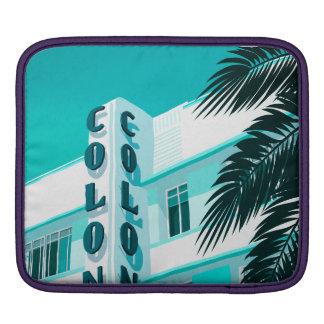 Housse iPad Hôtel Miami de colonie