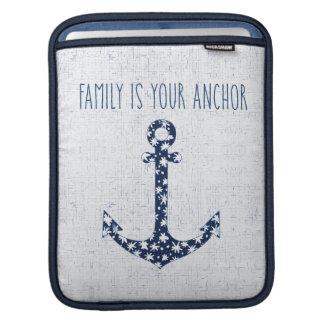 Housse iPad La famille nautique de la citation | est votre