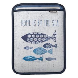 Housse iPad La maison côtière de l'art | est par la mer