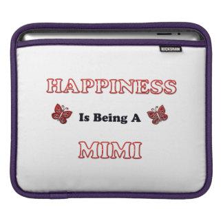 Housse iPad Le bonheur est A Mimi