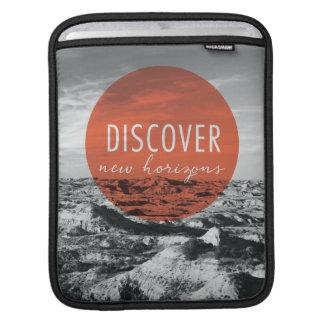 Housse iPad Les canyons | découvrent la citation de New