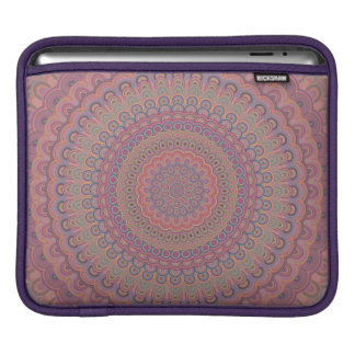 Housse iPad Mandala d'ovale de Boho