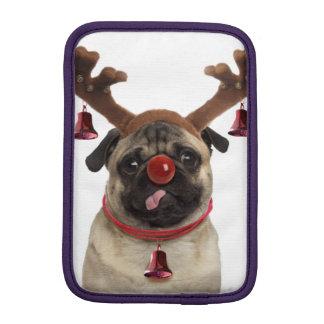 Housse iPad Mini Andouillers de carlin - carlin de Noël - Joyeux