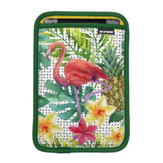 Housse iPad Mini Aquarelle tropicale