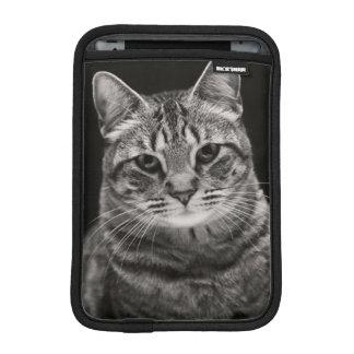 Housse iPad Mini Chaton tigré noir