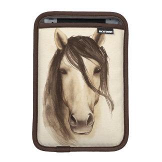 Housse iPad Mini Cheval des animaux | de grange d'aquarelle