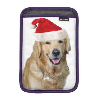 Housse iPad Mini Chien-animal familier de Labrador Noël-père Noël
