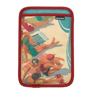 Housse iPad Mini Club de plage de paradis