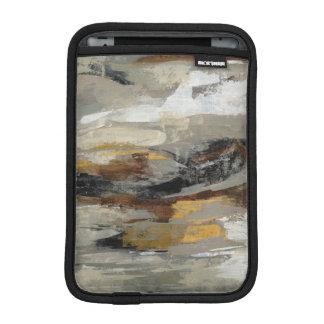 Housse iPad Mini Copie grise abstraite | Silvia Vassileva de neutre