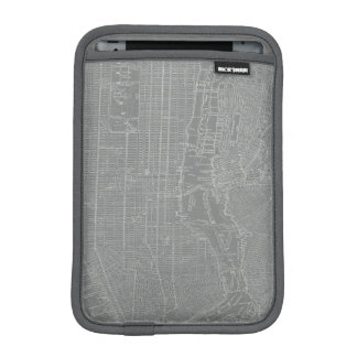 Housse iPad Mini Croquis de carte de New York City