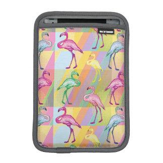 Housse iPad Mini Défilé de flamant