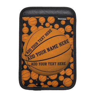 Housse iPad Mini Douille de Rickshaw de basket-balls
