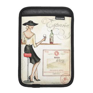 Housse iPad Mini Fashionista de vin