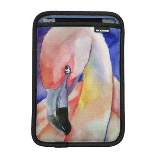Housse iPad Mini Flamant timide (art de Kimberly Turnbull)