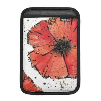Housse iPad Mini Fleur sur un arrière - plan blanc