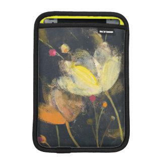 Housse iPad Mini Jardin de clair de lune sur le noir