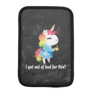 Housse iPad Mini Je suis sorti du lit pour ceci ? Snarkles la
