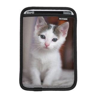 Housse iPad Mini Kitty repéré par blanc