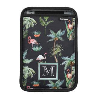 Housse iPad Mini Le motif | de paume d'aquarelle ajoutent votre