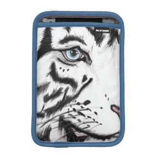 Housse iPad Mini Léopard de neige (art de Kimberly Turnbull)