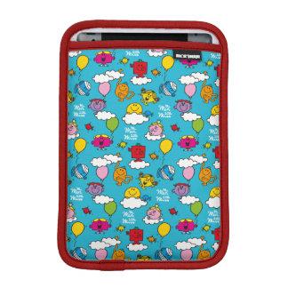 Housse iPad Mini M. Men et petits oiseaux et ballons de la Mlle |