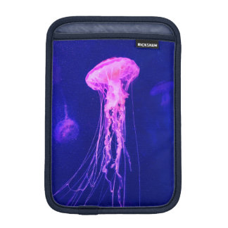 Housse iPad Mini Méduses lumineuses au néon