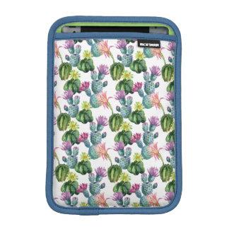Housse iPad Mini Motif d'art de cactus d'aquarelle