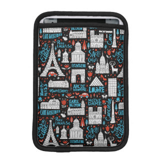 Housse iPad Mini Motif de symboles de la France |