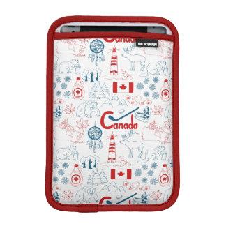 Housse iPad Mini Motif de symboles du Canada |