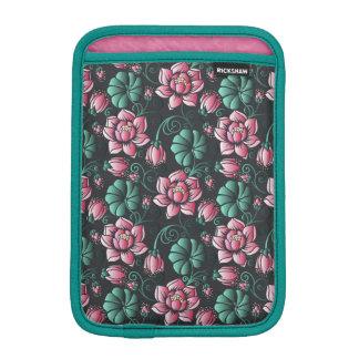 Housse iPad Mini Motif floral élégant de motif rose de Lotus