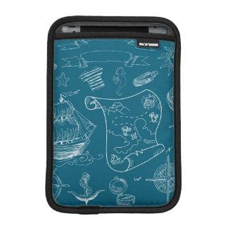 Housse iPad Mini Motif graphique nautique de modèle